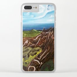 EL TRONCO EN LA CIMA Clear iPhone Case
