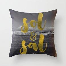 Sol & Sal Throw Pillow