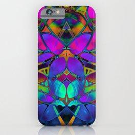 Floral Fractal Art G308 iPhone Case