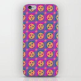 Gearwheels pattern iPhone Skin