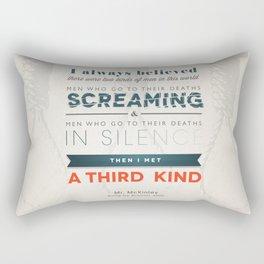 The Third Kind Rectangular Pillow