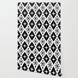 Mid Century Modern Atomic Triangle Pattern 125 Wallpaper