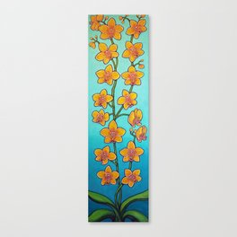 Orchid Azure Bliss Canvas Print