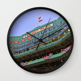 Fenway Park - Boston Red Sox Wall Clock