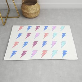 Sweet & Spicy Lightning Rug