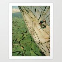 vertigo Art Prints featuring vertigo by Jesse Treece