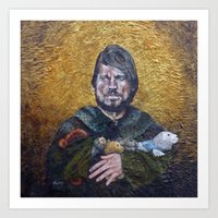 lannister Art Prints featuring Jaime Lannister - Awards From Army Hero Squad by HevArtScenic