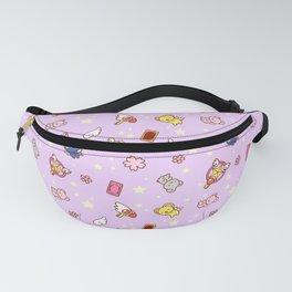 cardcaptor sakura cute pattern lilac Fanny Pack