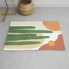Abstract Cactus I Rug