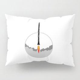 Clarinet Rocket Pillow Sham