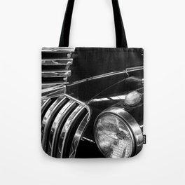 Old black Chevy  Tote Bag