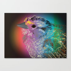 Rainbow Bird Canvas Print