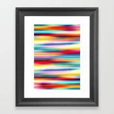 Blurry Cool Framed Art Print