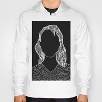 poker Hoodies featuring Poker Face by Laura Moreau
