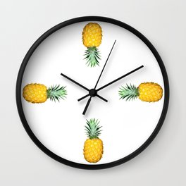 Big Pineapples Wall Clock