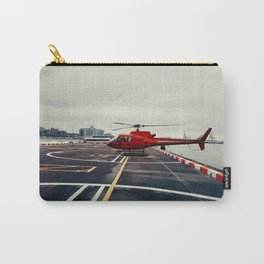 Red Helicopter Carry-All Pouch