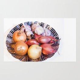 onion, shallot, garlic Rug
