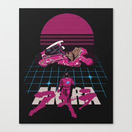 Neo-Tokyo Akira Synthwave tribute Canvas Print