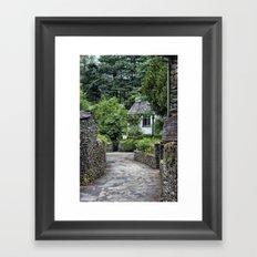Dove Cottage Framed Art Print