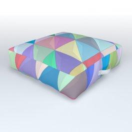 Geometric Shapes I Outdoor Floor Cushion