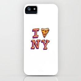 I Pizza NY iPhone Case