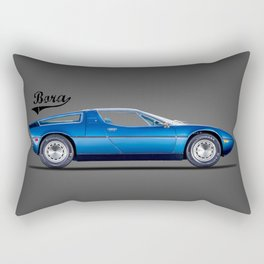 The Bora 1973 Rectangular Pillow