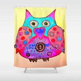 twittwoo Shower Curtain
