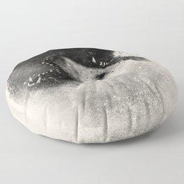 Polar Opposites  Floor Pillow