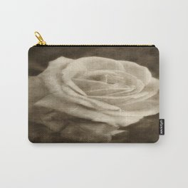 Pink Roses in Anzures 2 Antiqued Carry-All Pouch