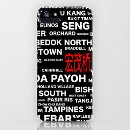 ESTATE OF SINGAPORE - ANG MO KIO iPhone Case
