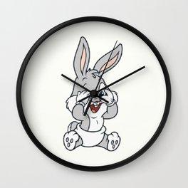 Baby Bugs Bunny Wall Clock
