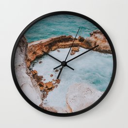 Summer Coast VIII Wall Clock