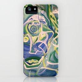 Alien Acrobat iPhone Case