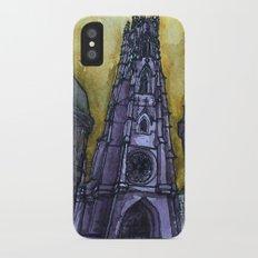rainy Fribourg Slim Case iPhone X