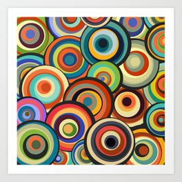 Abstract Composition 435 Art Print