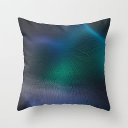 Beauty of the Northern Lights Throw Pillow