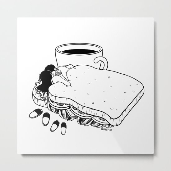 Breakfast Included Metal Print