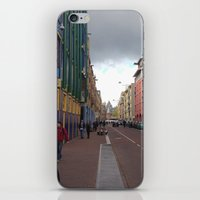 greg guillemin iPhone & iPod Skins featuring Amsterdam - Greg Katz by Artlala for MSF Doctors Without Borders
