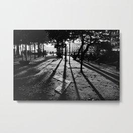 City Shadows Metal Print