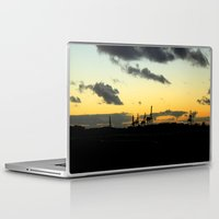 industrial Laptop & iPad Skins featuring Industrial by MKMalesevich
