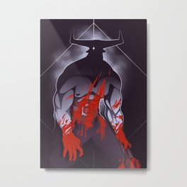 Companion Fears - Madness Metal Print