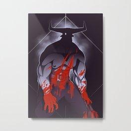 Companion Fears - Madness Metal Print