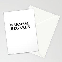 Warmest Regards T-Shirt, Schitt's Creek Shirt,  Stationery Cards