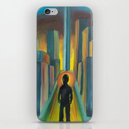 """The Diverge"" iPhone Skin"