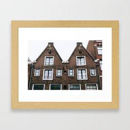 Grachtengordel - Amsterdam, The Netherlands - #3 Framed Art Print