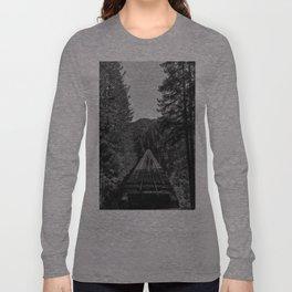 Vance Creek Bridge, Shelton, WA Long Sleeve T-shirt