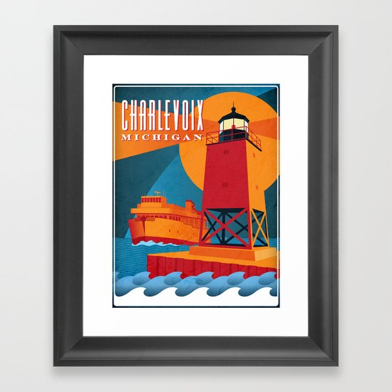 Charlevoix The Beautiful Framed Art Print