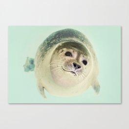 Little Buddy Canvas Print