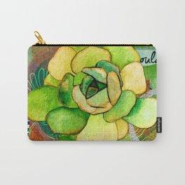 Pietra Rosetta Succulent Garden Carry-All Pouch