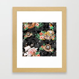 Pirate #5 Framed Art Print